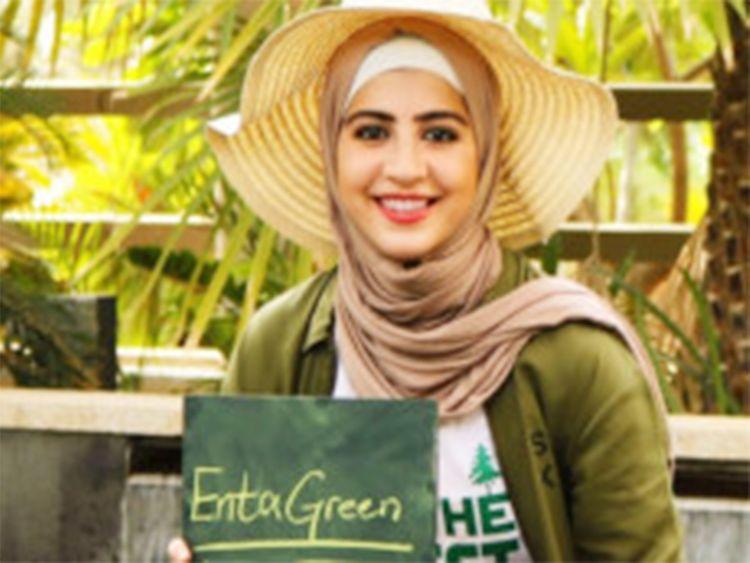 Rasha Saleh, environmental activist