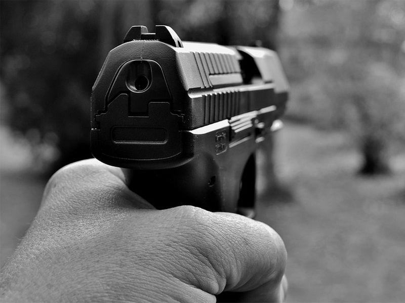 pistol, gun, rifle