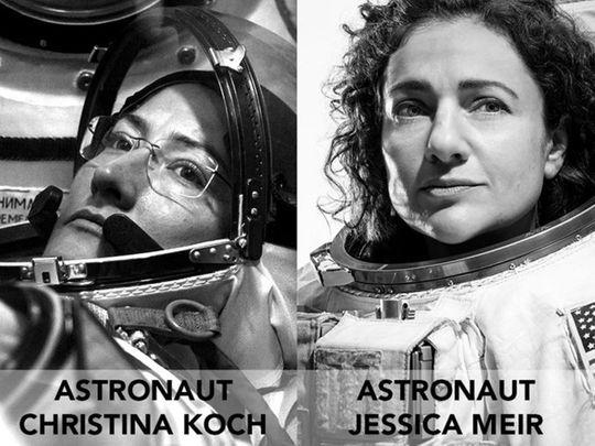 Jessica Meir and Christa Koch make history