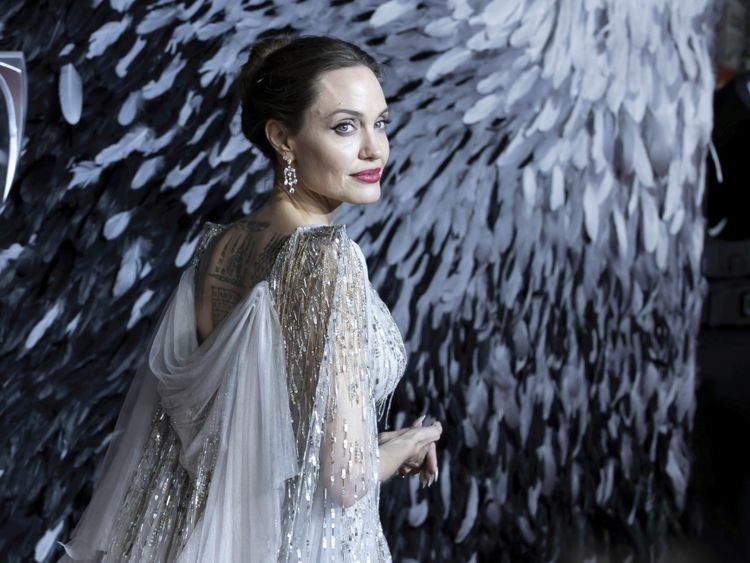 Angelina Jolie Champions Women In Maleficent Hollywood