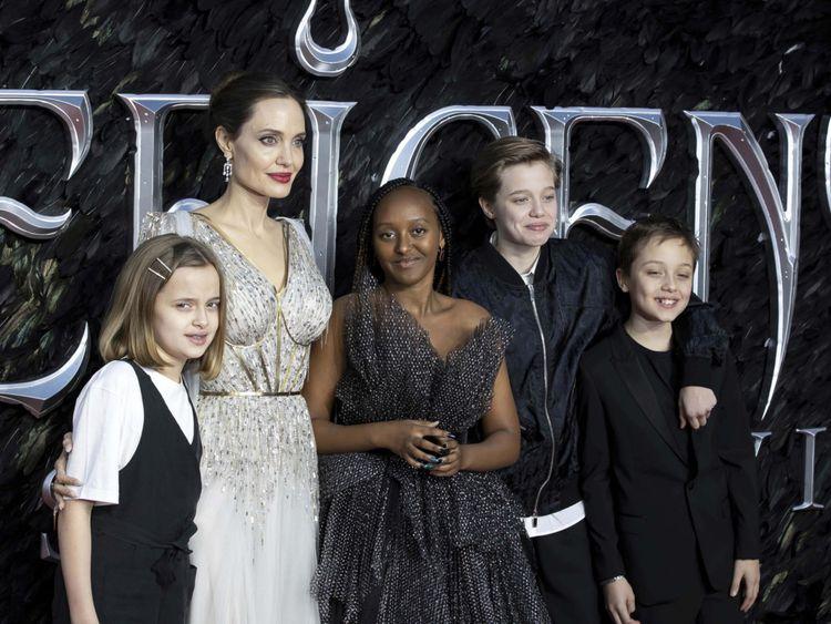 Maleficent Jolie Kids-1571462816449