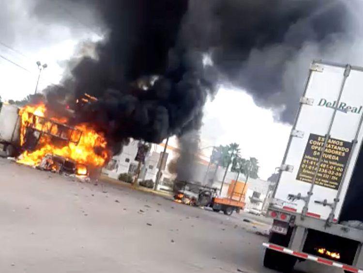 Mexico Guzman gunfire