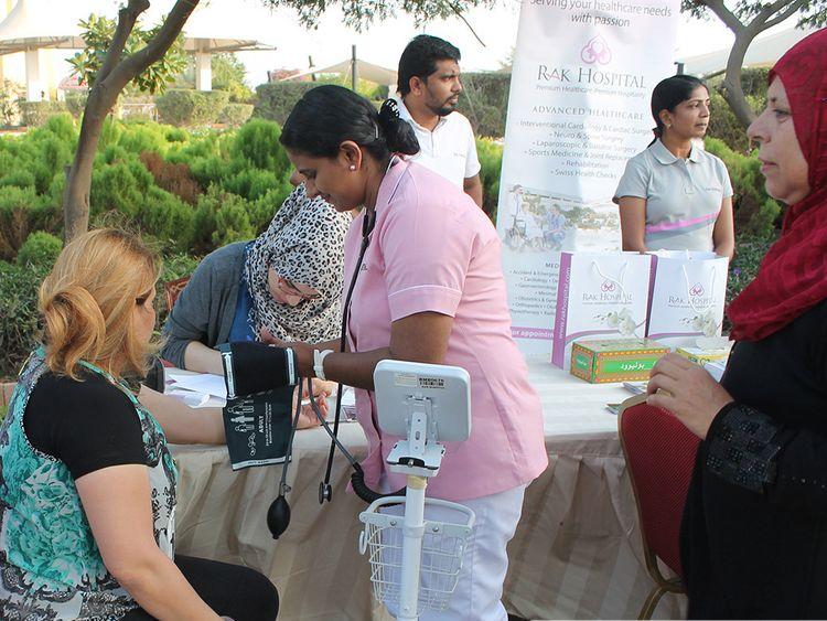 NAT Screening Camp at RAK Hospital-1571474450152