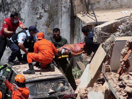Brazil building collapse
