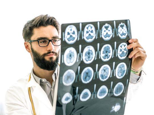 Dubai Health Authority stroke aneurysm