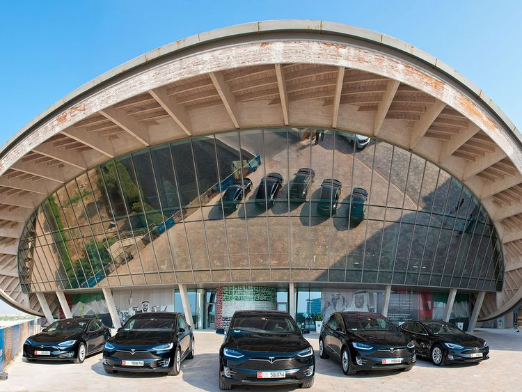 Masdar City and ekar announce strategic partnership to bring first Tesla car-share operation to the Middle East