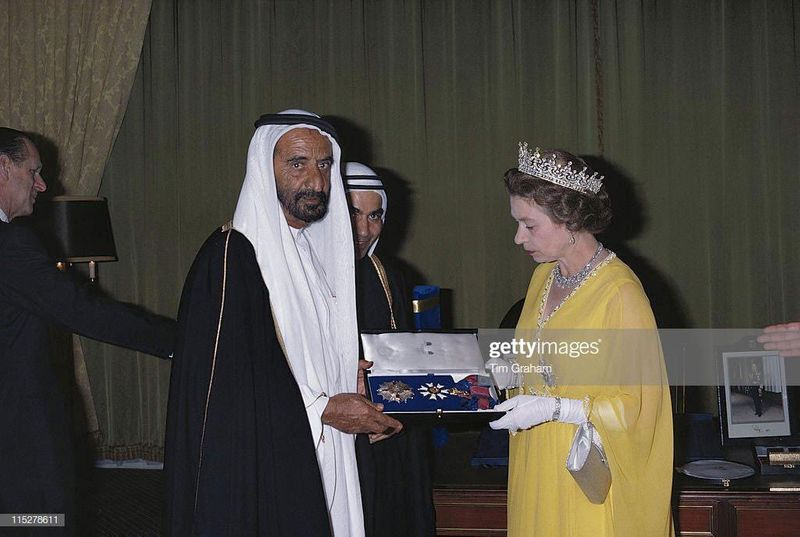 Shaikh Rashid Bin Saeed gift