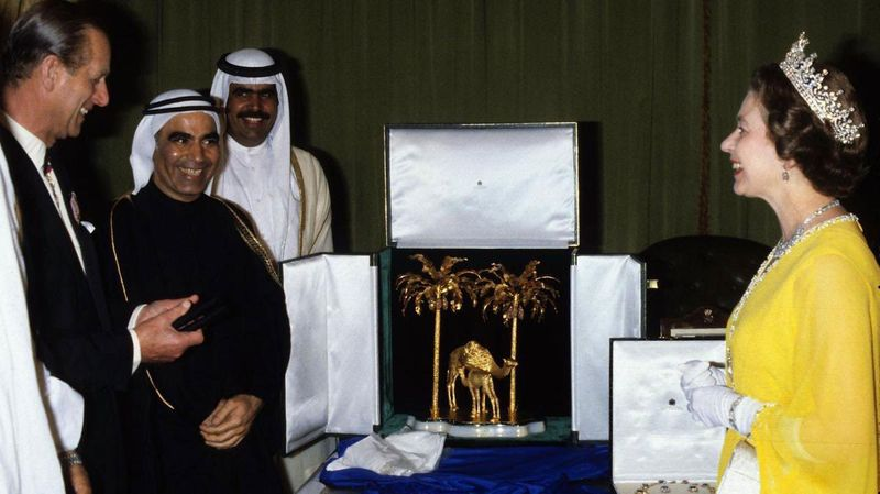 UAE gifts to queen elizabeth in 1979
