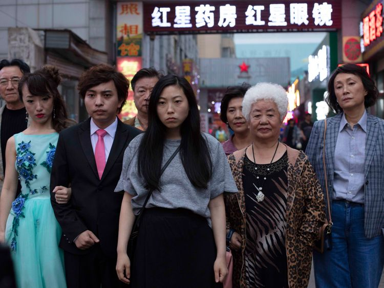 A still from 'The Farewell'.
