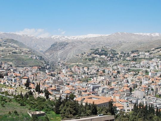 A view of Zahle 015151