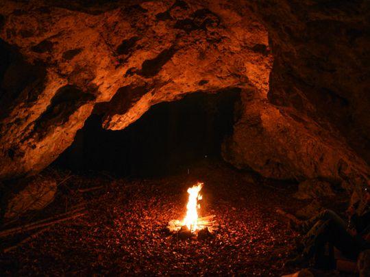 The primal feelings in lighting a fire