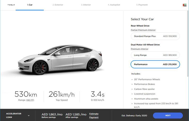 Tesla Model 3 performance affordable 01212