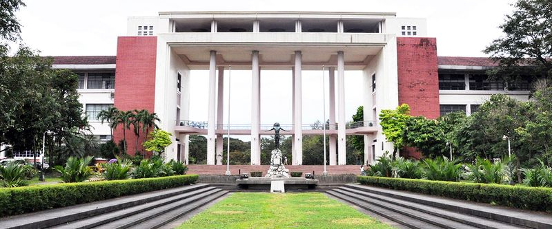 The University of the Philippines campus in Diliman, Quezon City