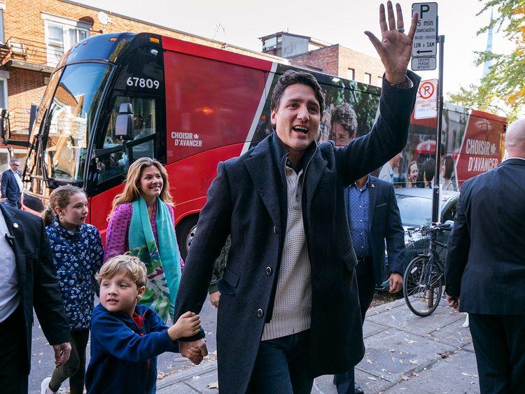 191022 Justin Trudeau