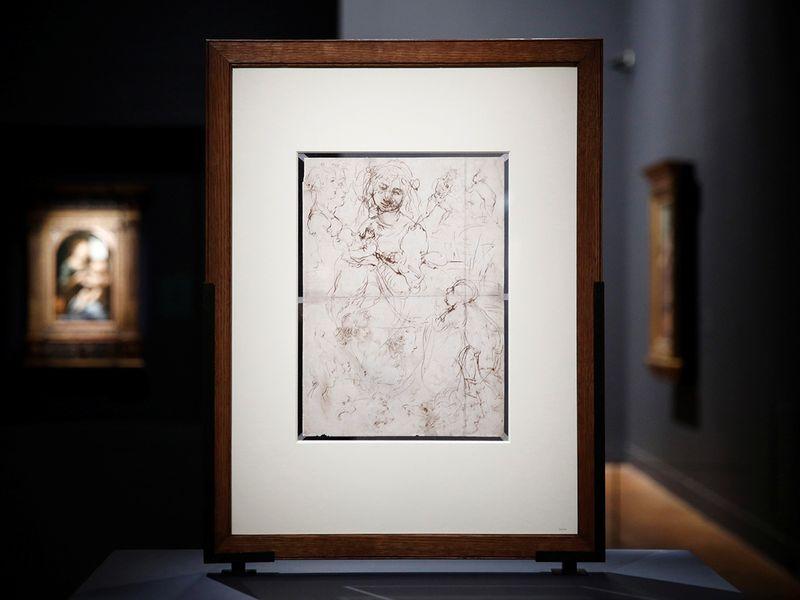 A drawing by Leonardo da Vinci