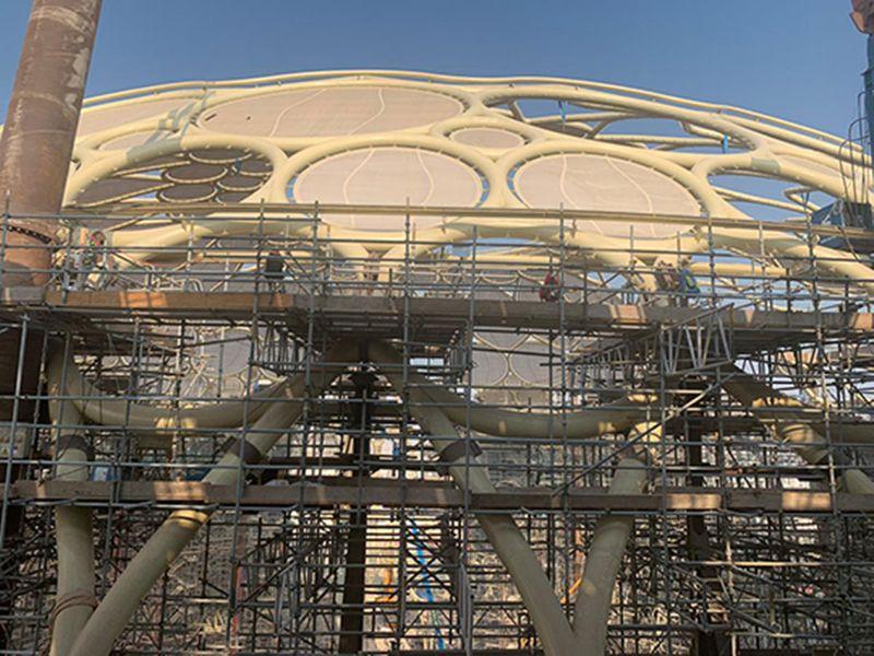 Al Wasl Plaza dome