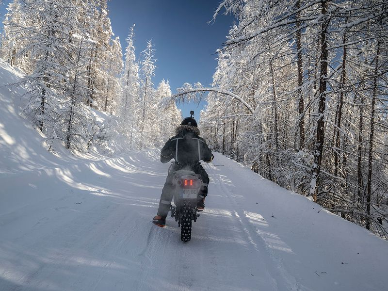 Coldest ride