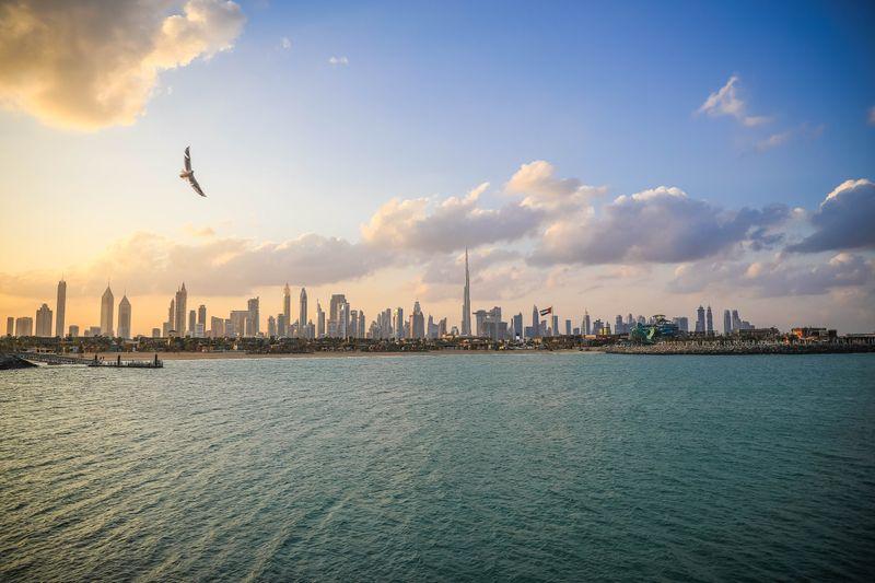 Dubai skyline 20102