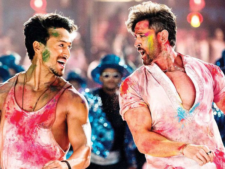 Hrithik Roshan and Tiger Shroff in War-1571738991817