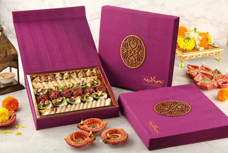 Rajdhani  - Diwali Sweet Box-1571725054878