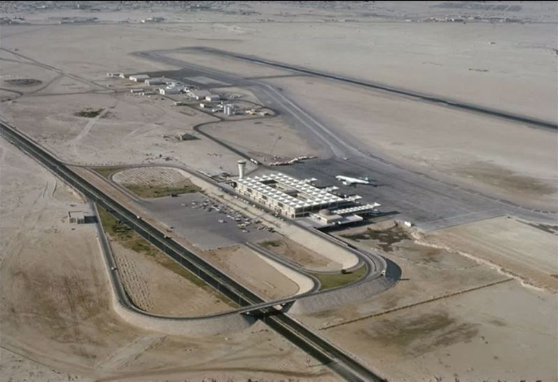 A view of the old Dubai International Airport