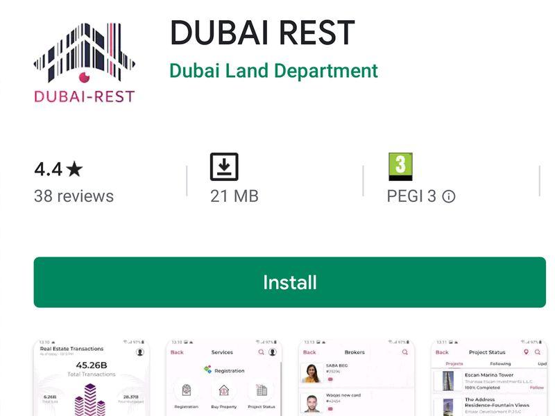Buying property - tips Dubai rest