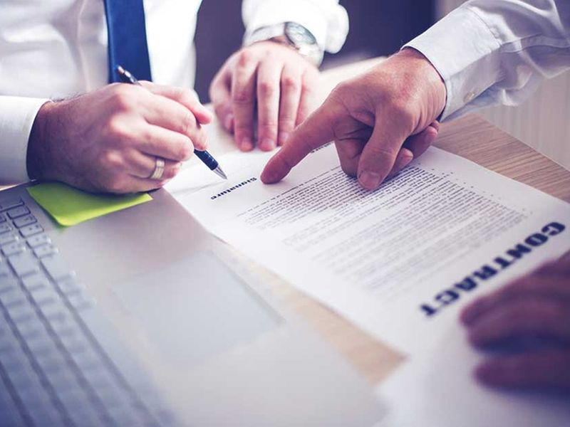 Buying property - tips contract