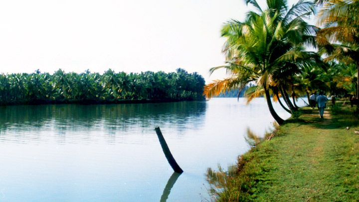 Chithari - a small tropical Island Chithari