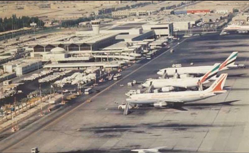 Dubai Airport 1980s and 1990s