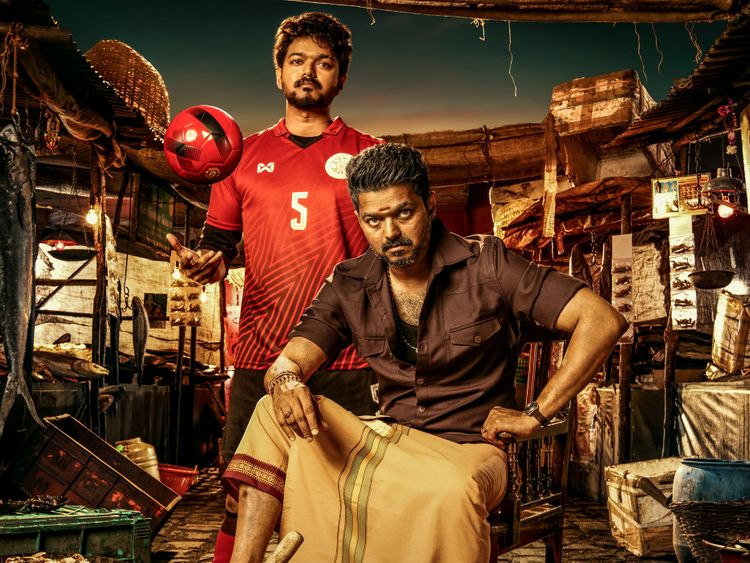 One of the look of Vijay from Bigil-1571810786440