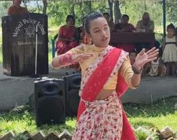 NAT 191024 Dipak's daughter dancing-1571907466510