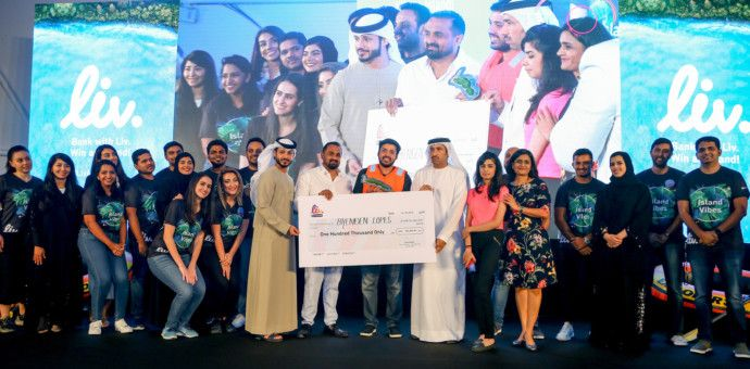 NAT 191024 Liv. customer wins private island and AED 100,000 cash prize in unique promotion-1571915106691