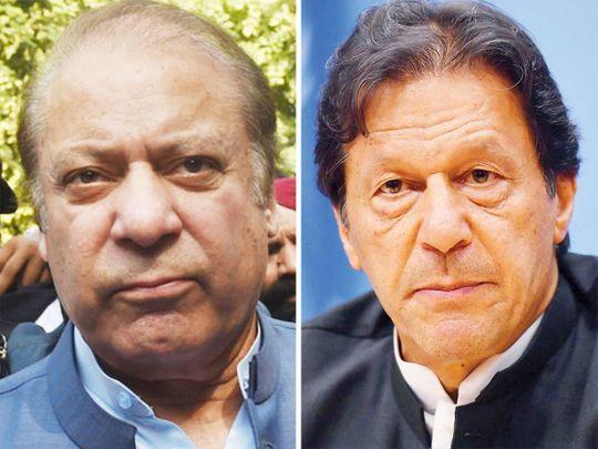 Nawaz Sharif Imran Khan