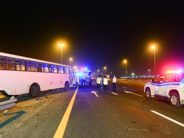 Sharjah Bus Crash