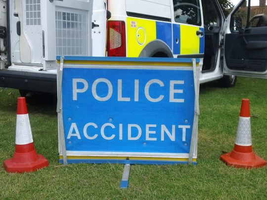 accident scene, police, accident