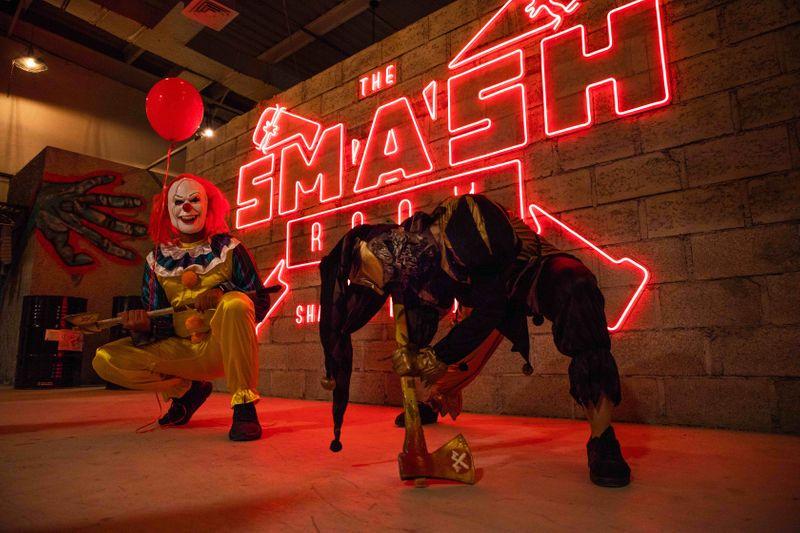 The Smash Room.