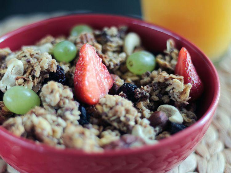 muesli-high fibre diet