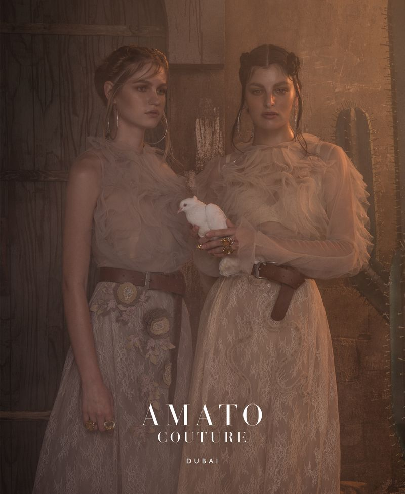 A look from Amato's previous collection.