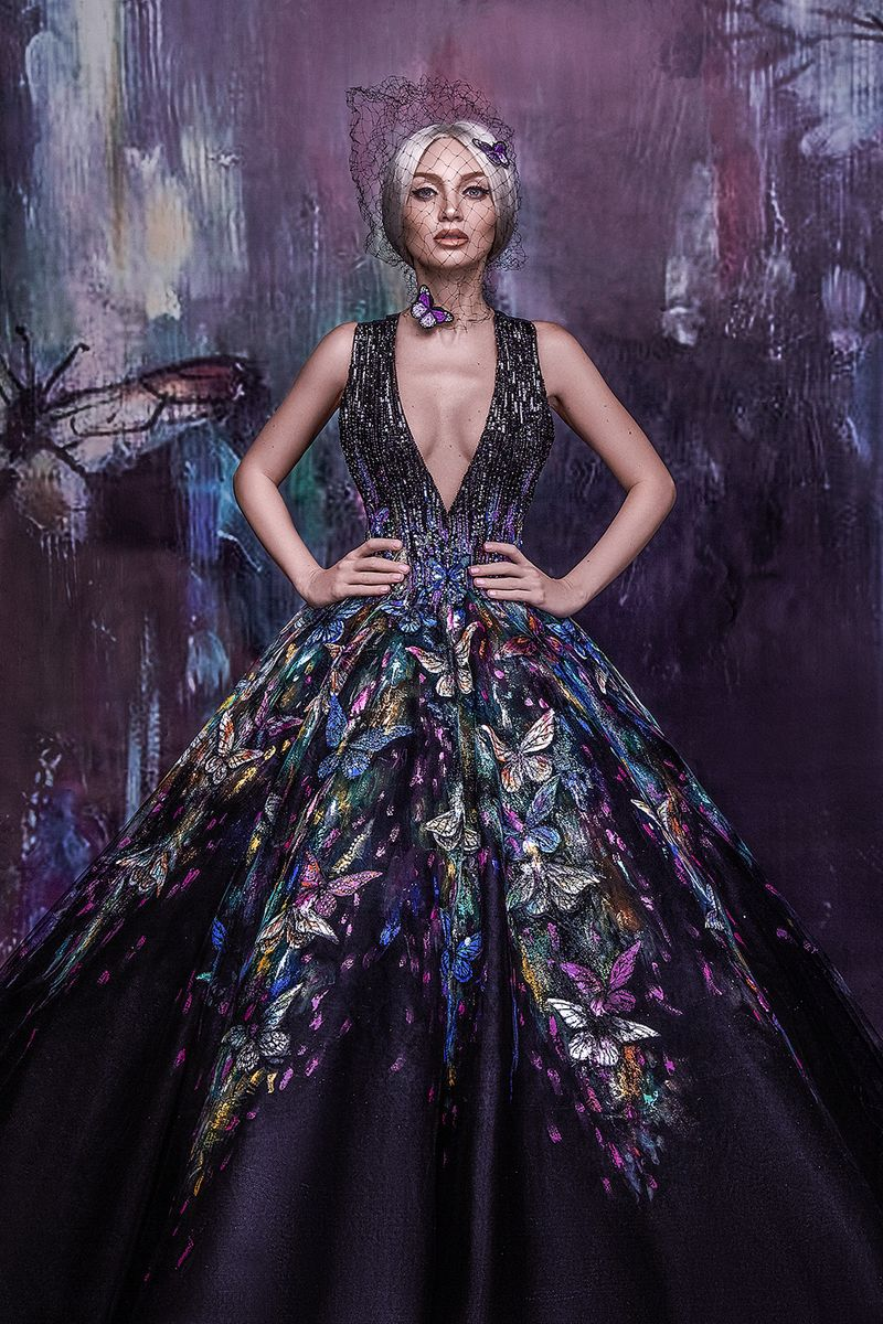 A look from Michael Cinco's previous collection.