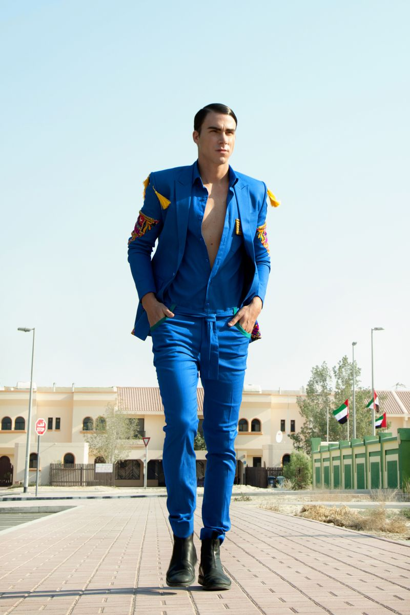 A look from Varoin Marwah's previous collection.