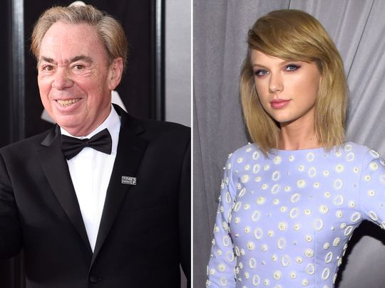 TAB 191027 Andrew Lloyd Weber and Taylor Swift-1572160296598