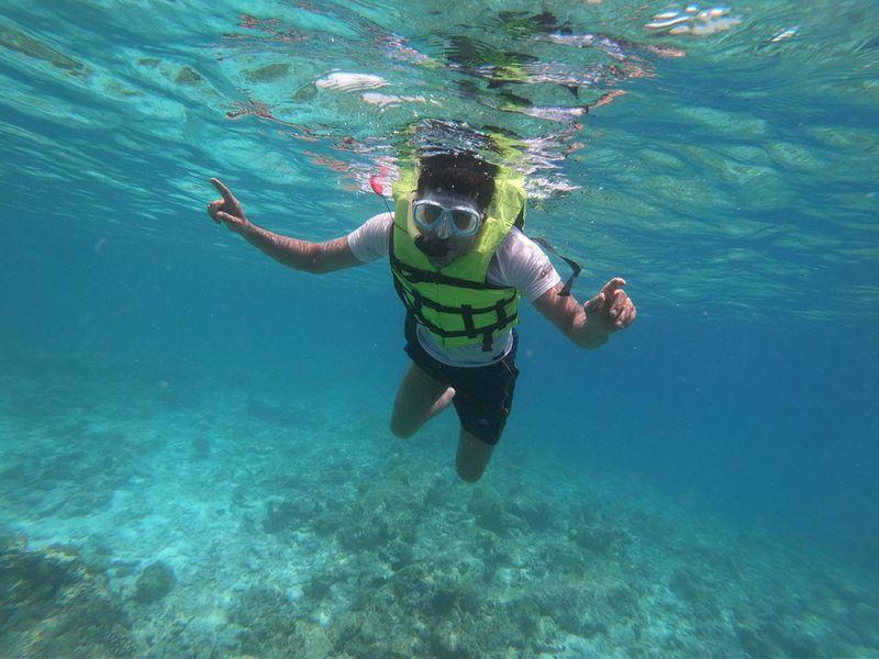 Abdul Salu in the Maldives