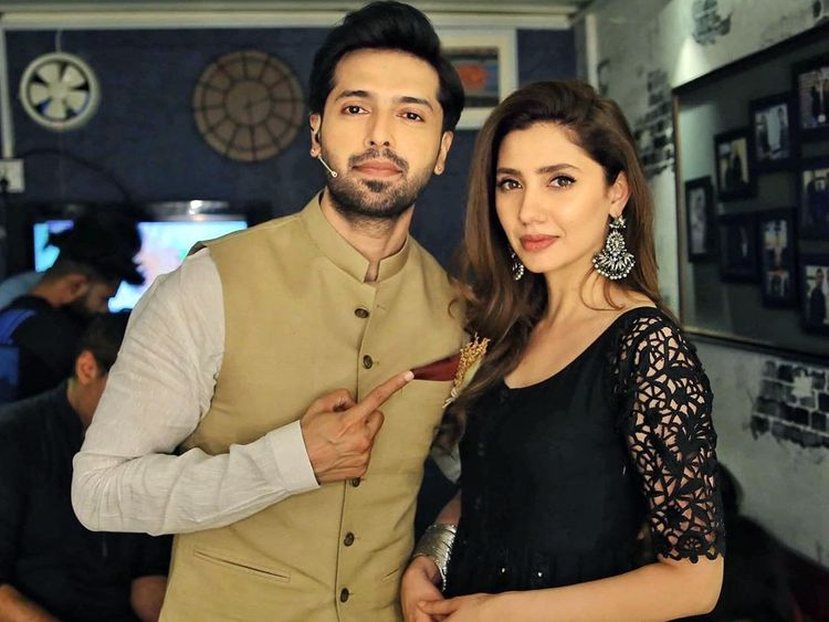 Mahira Khan and Fahad Mustafa-1572241294755