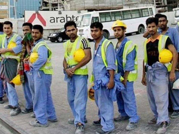 Pakistani workers in Saudi Arabia