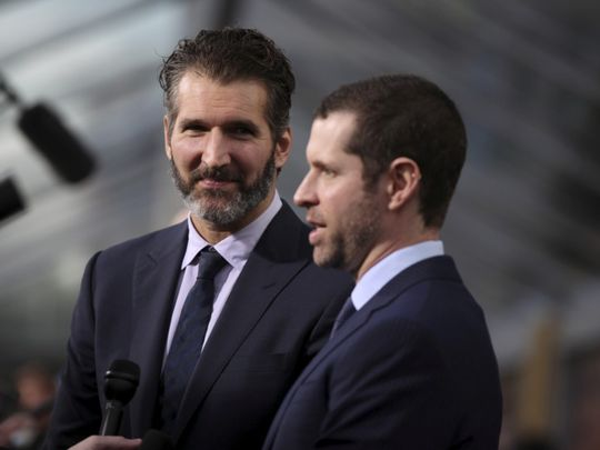 TAB 191030 : David Benioff AND DB Weiss1-1572417802998