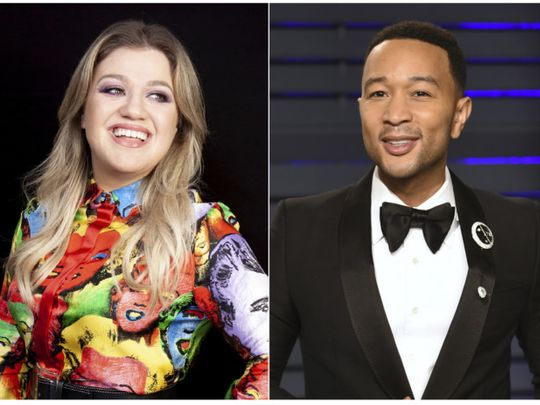 TAB 191030 John Legend and Kelly Clarkson-1572418283880