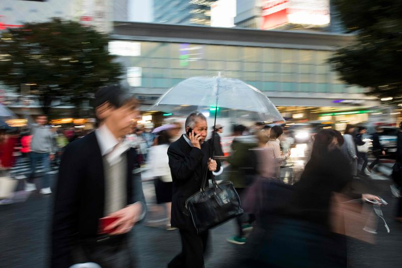 World's busiest pedestrian crossing