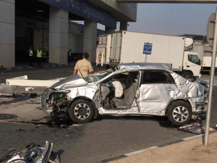 Airport Car Crash