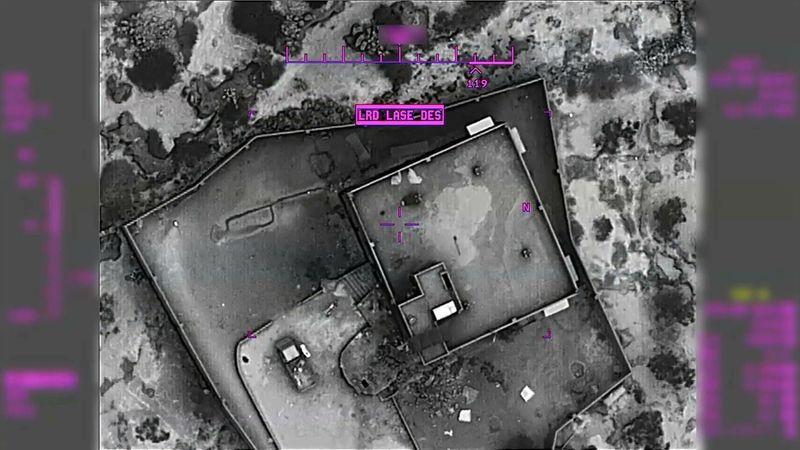 Pentagon Al Baghdadi raid photos