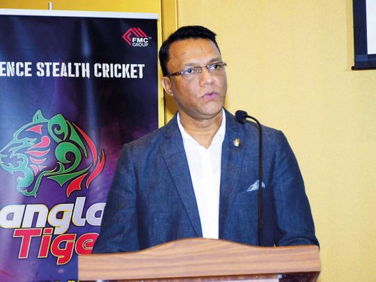 Yasin Chowdhury, owner of Bangla Tigers